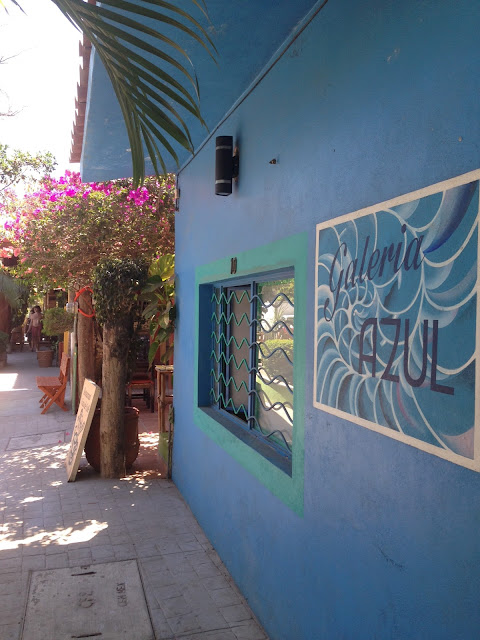 streets of San Pancho Mexico