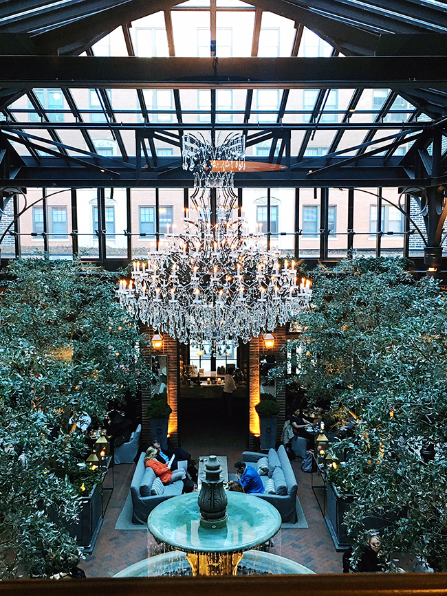 3 Arts Club Cafe at Restoration Hardware in Chicago