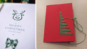 5 unique Christmas and New Years post card ideas