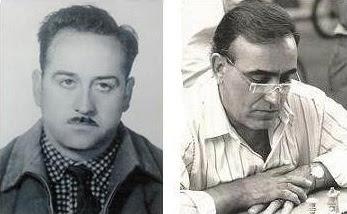Los ajedrecistas Jaume Vila y Joaquim Travesset