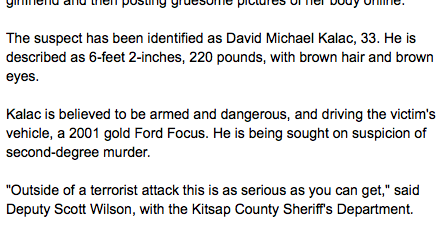 free to find truth: 33 74 | David Michael Kalac, 33-year Old
