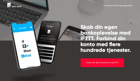 Spar Nord sur IFTTT