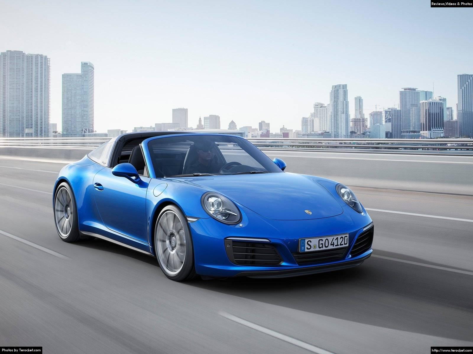 Hình ảnh xe ô tô Porsche 911 Targa 4 2016 & nội ngoại thất