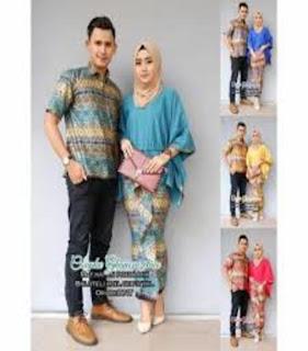 model baju batik modern muslimah