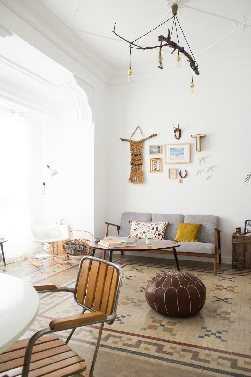 Casas reales luc a y jose la bici azul blog de for Eclectische stijl interieur