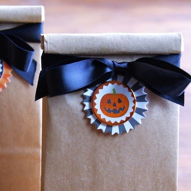 there are so many cute halloween party favor ideas floating about the web like the witchu0027s broom goodie bags for example though they do require some diy