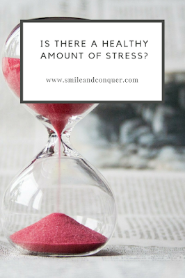Is there such a thing as a healthy amount of stress?