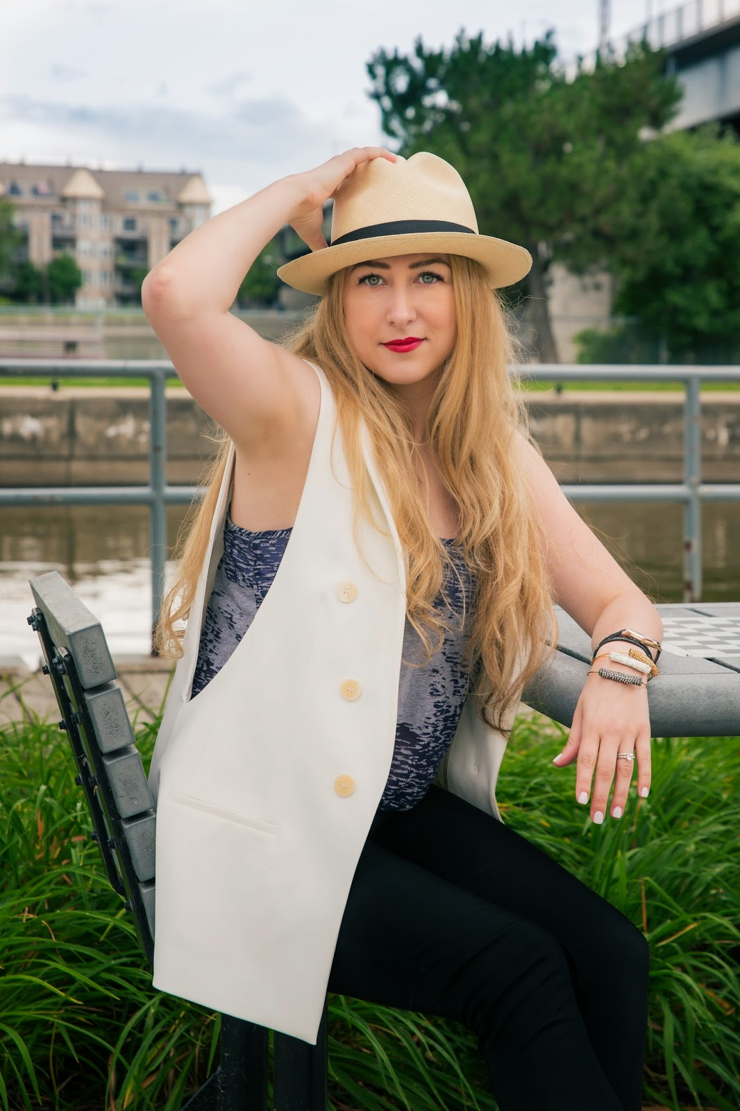 Panama Hat, J.Crew, outfit