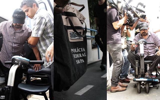 A REPÚBLICA DOS BANDIDOS E SEUS ATORES VEJA AS PRISÕES DO EX-SENADOR E EX-PREFEITO DE BELÉM, DUCIOM