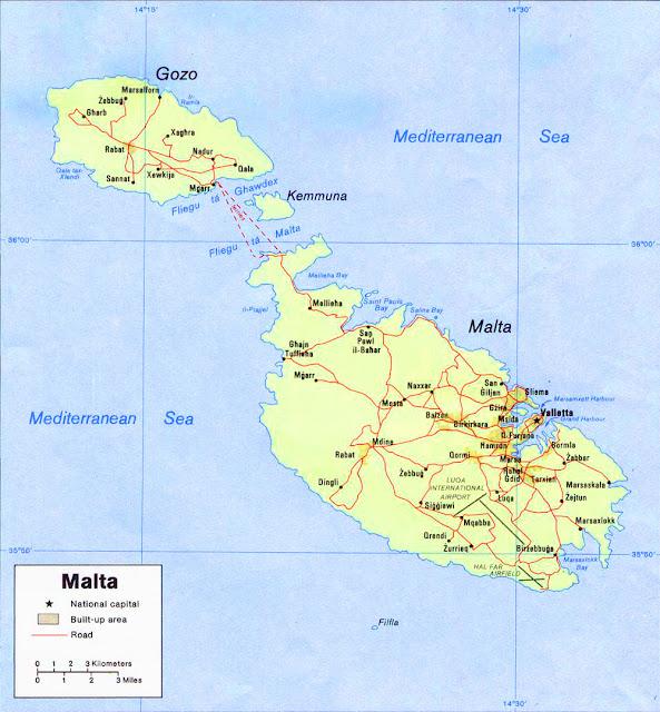 image: Peta Politik Malta