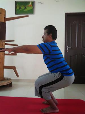 body and soul benefits of utkatasana / chair pose