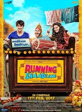 Runningshaadi.com (2017) Hindi DVDRip 700MB