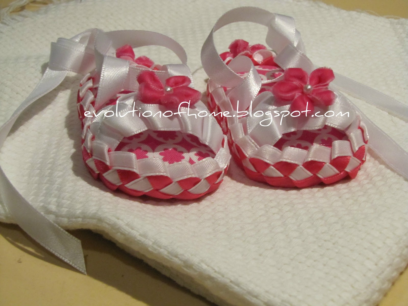 Pink Mk Baby Shoes