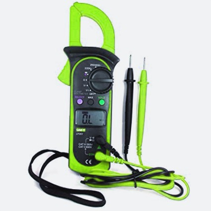 amperimetro corriente eletectrica medir