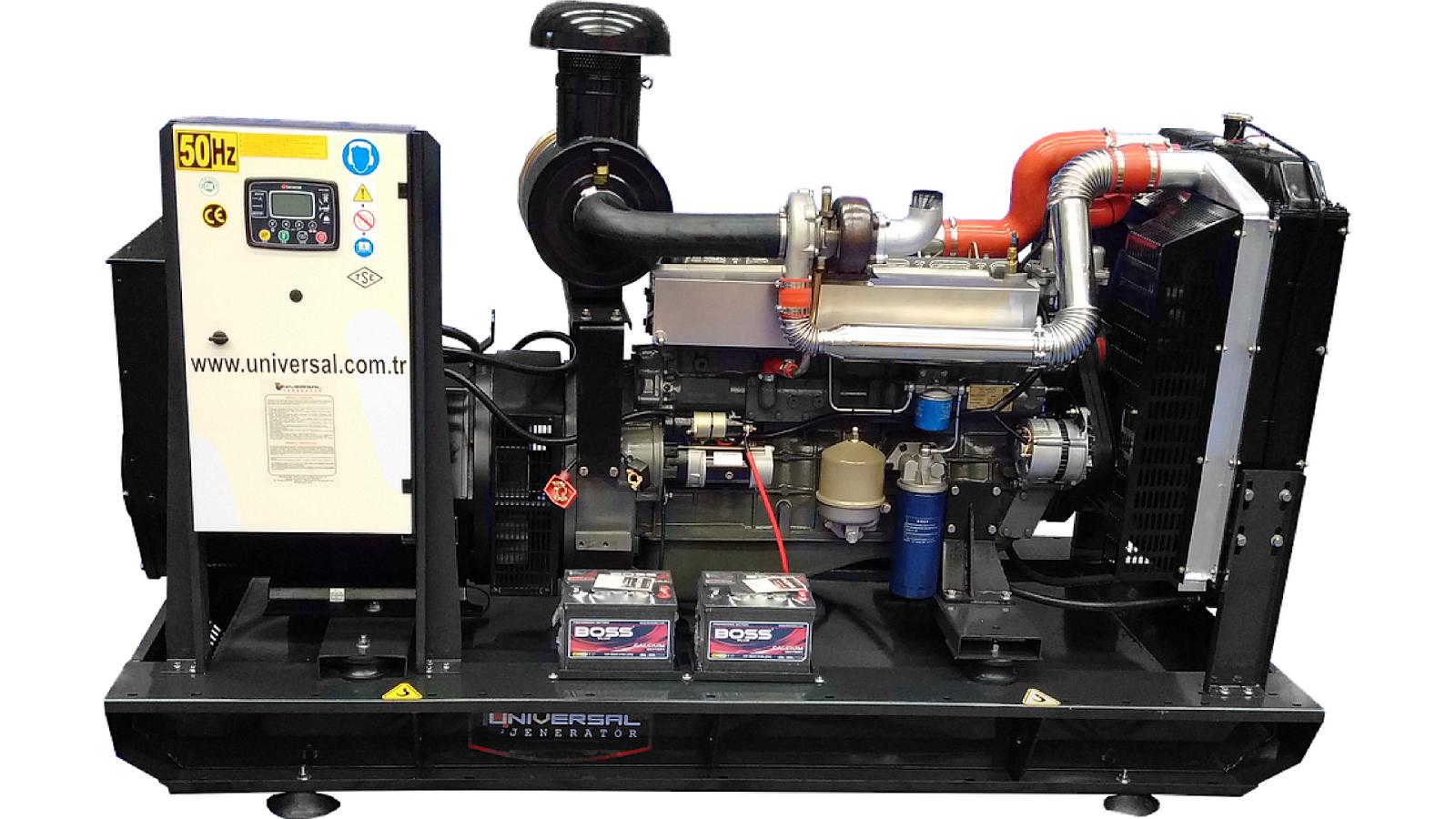 Generadores diesel montados en barcazas (BMD)