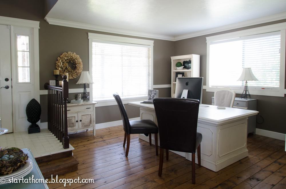 Living Room Turned Office Update Start At Home Decor