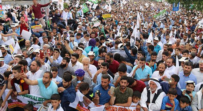 Zekeriya Yapıcıoğlu Diyarbakır'da miting düzenledi
