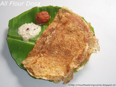 All Flour Dosa