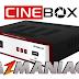 CINEBOX OPTIMO HD DUO NOVA ATUALIZAÇÃO SKS 22W - 24/07/2016