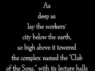 metropolis-ermetismo