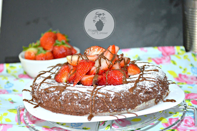 tarta de chocolate fittnes