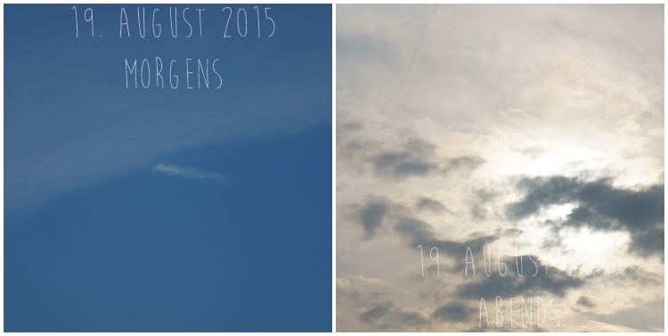 Blog & Fotografie by it's me! - Himmel am 19. August 2015