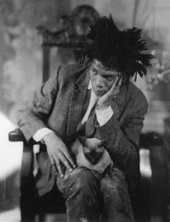 Jean-Michel Basquiat, by James Van Der Zee, 1982.