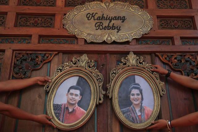Kumpulan foto Pernikahan Kahiyang Ayu putri Presiden Joko Widodo