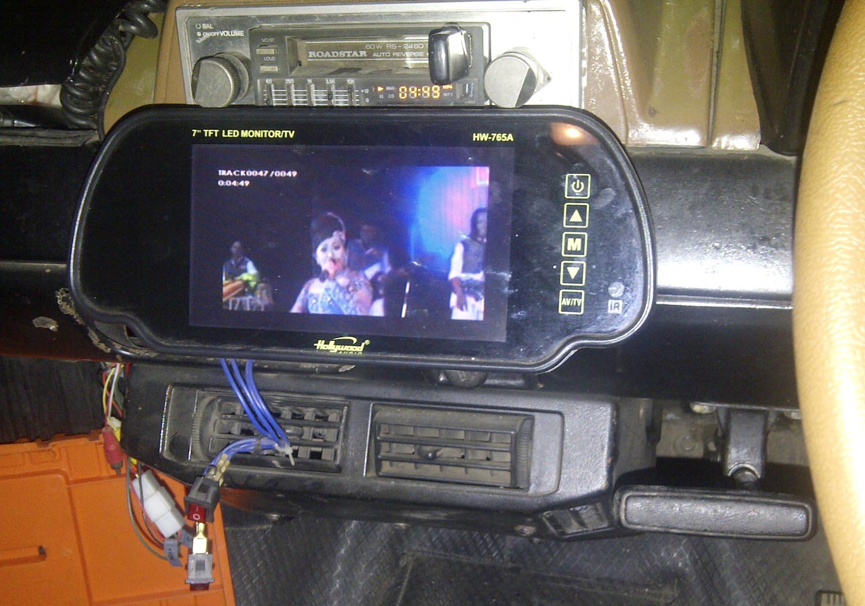 Sandi Web  Modifikasi Tape Mobil Jadul Dipasang Mpeg Dvd Usb