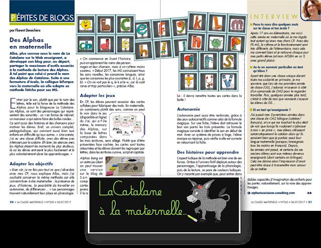 Pépites de blogs - La Classe maternelle (juin-juillet 2017)