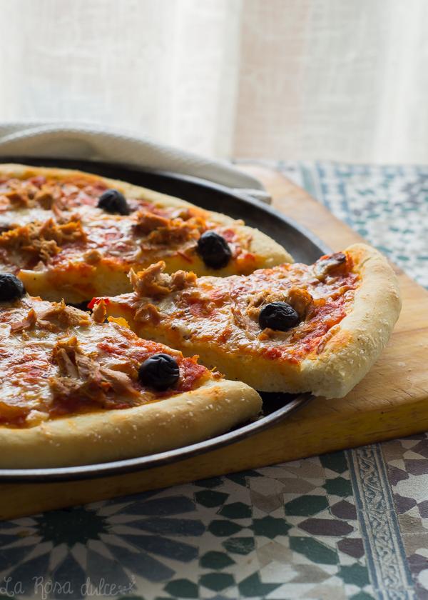 Cómo Hacer La Mejor Masa De Pizza Casera La Rosa Dulce