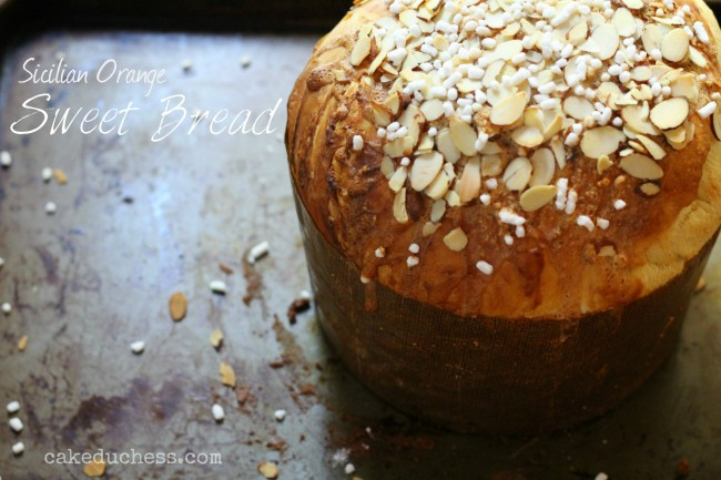Sicilian Orange Sweet Bread