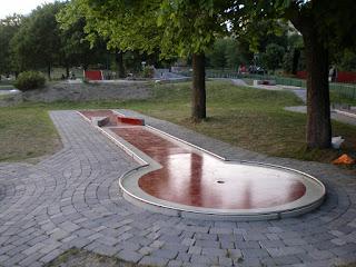 Tantogårdens Bangolf in Stockholm, Sweden