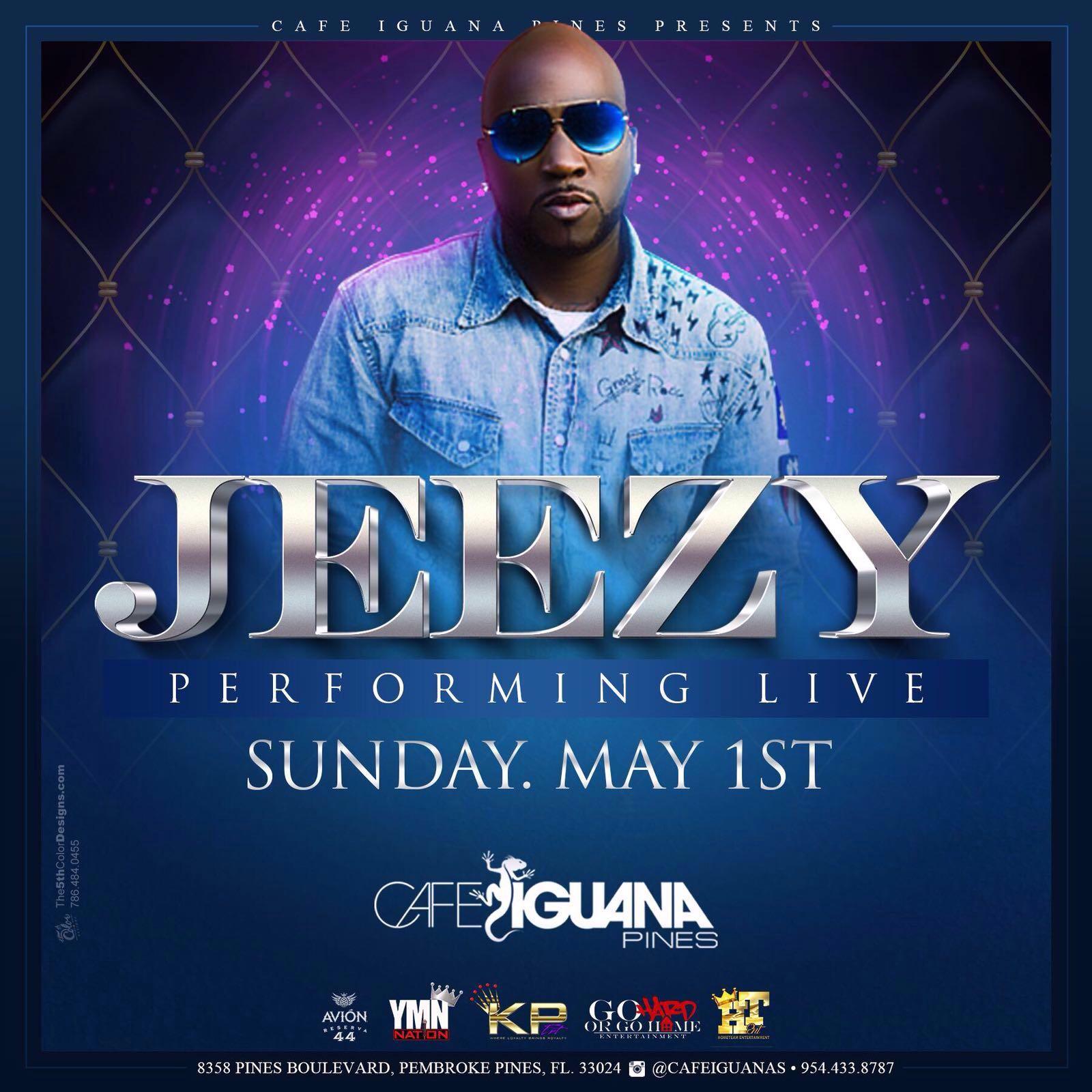 Jeezy Performing Live At Cafeiguanas On May 1st