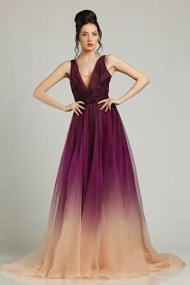vestidos largos y elegantes 2017