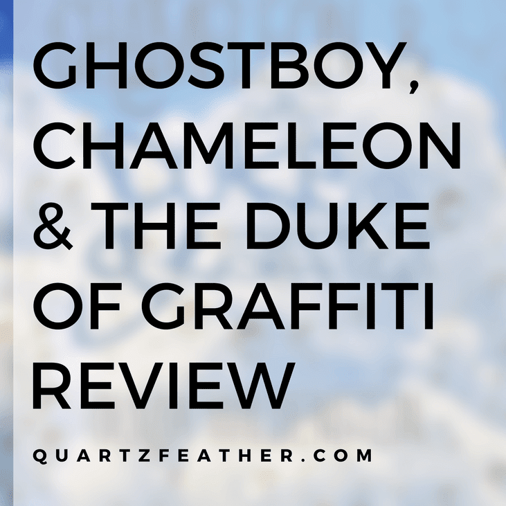 Ghostboy, Chameleon and the Duke of Graffiti By Olivia Wildenstein Review