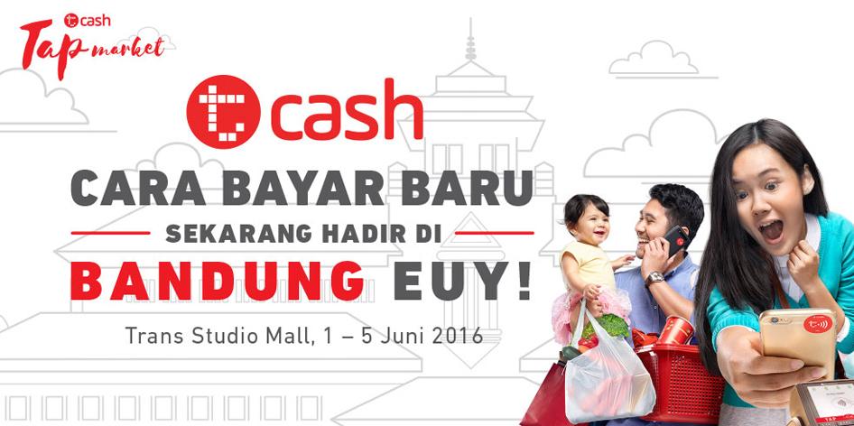Launching TCash Telkomsel di Trans Studio Bandung