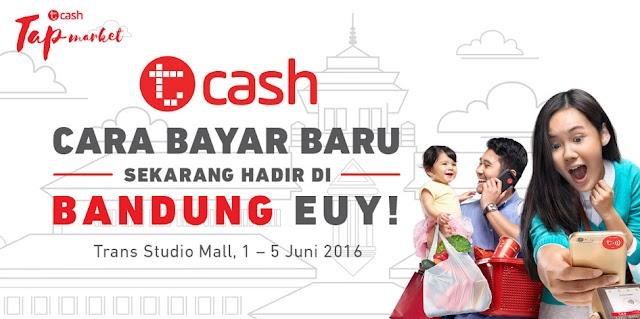 Tcash Tap, Layanan Uang Elektronik dari Telkomsel Kini Hadir di Bandung