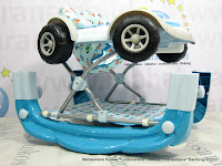 Baby Walker Care 2 in One Walker Rocker Mobil