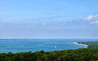 Vue sur l'océan depuis la dune du Pilat