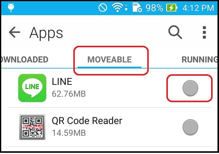 Zenfone Tips Quot Insufficient Storage Available Quot When
