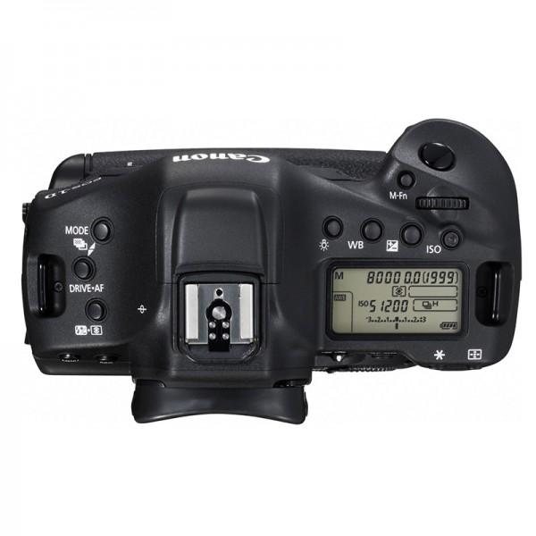 Fotografia della calotta della Canon EOS-1D X Mark II