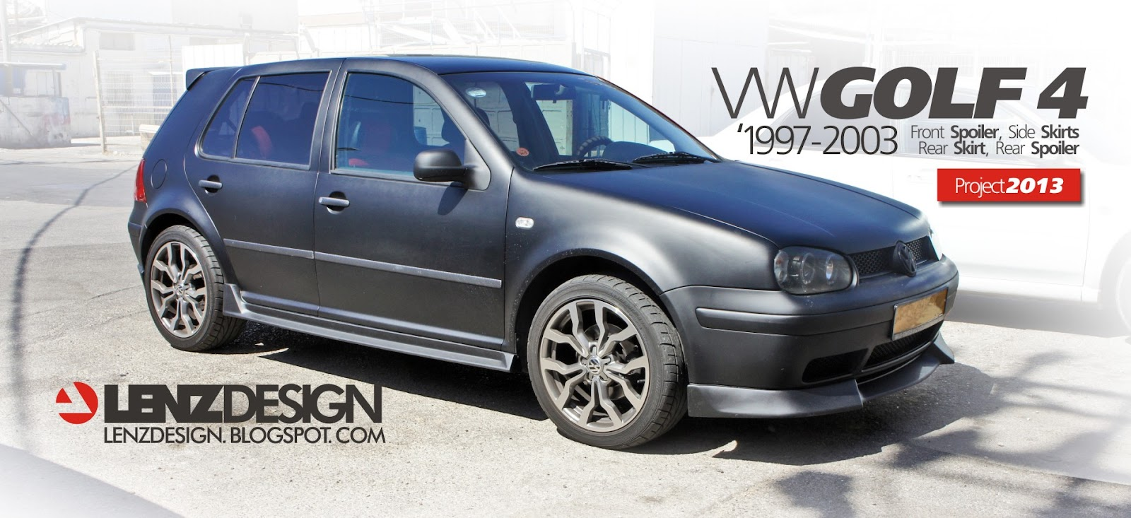 Car Vinyl Wrap For Sale >> VW Golf 4 Tuning Lenzdesign. שיפורים חיצוניים לרכב - Auto ...