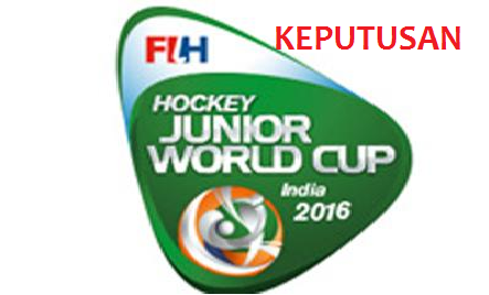 Hoki Piala Dunia Remaja 2016 India