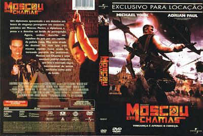Filme Moscou em Chamas DVD (Moscow Heat) DVD Capa