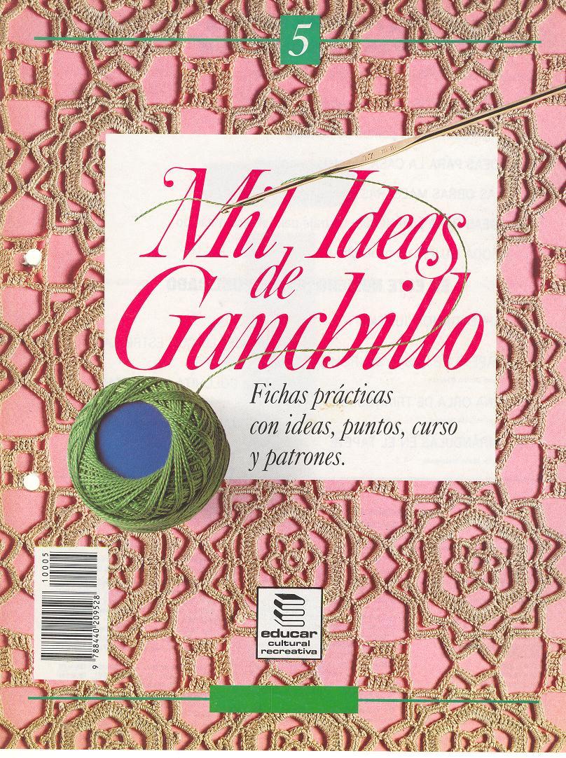 REVISTAS DE MANUALIDADES GRATIS: Mil ideas de ganchillo