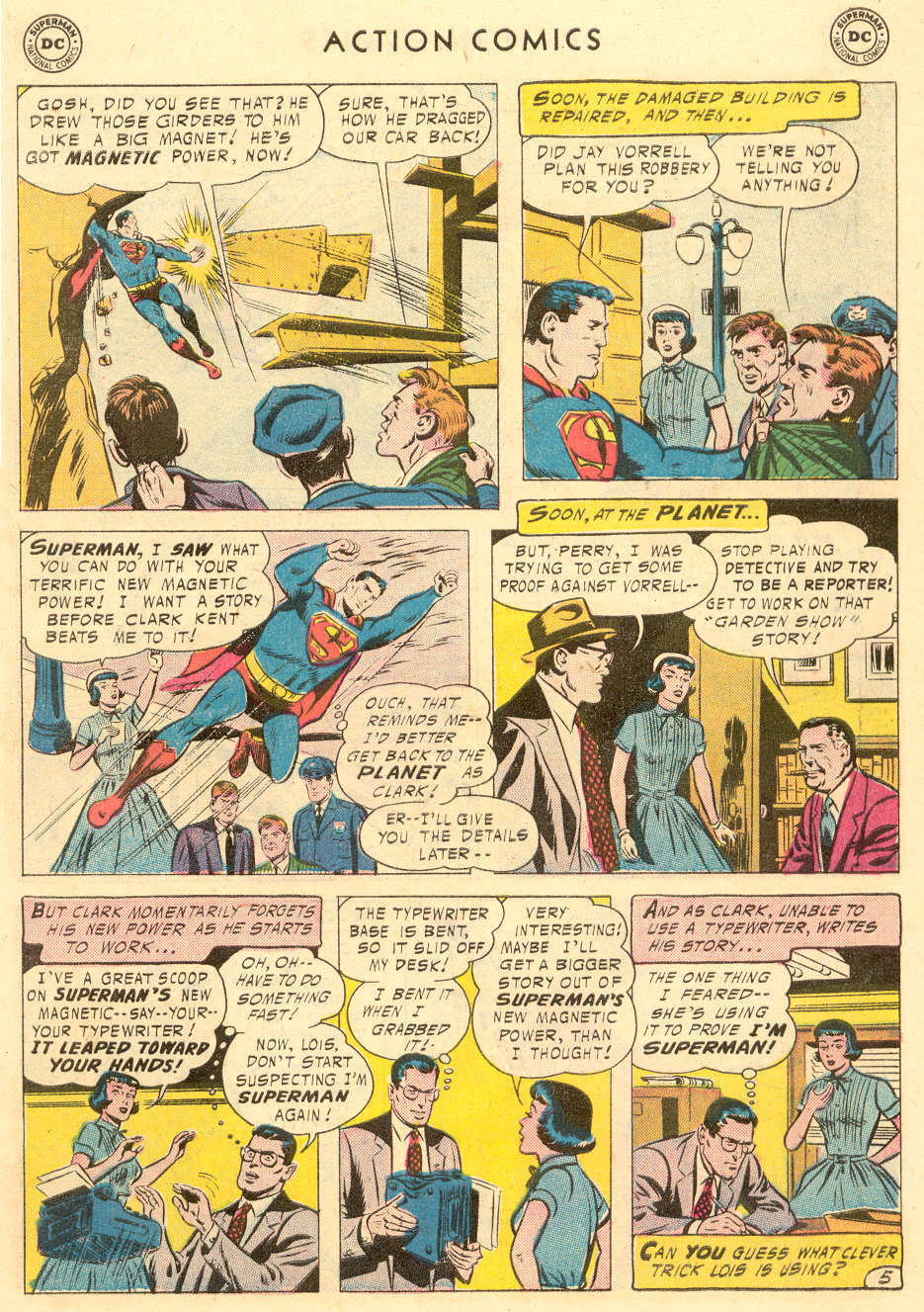 Read online Action Comics (1938) comic -  Issue #221 - 7