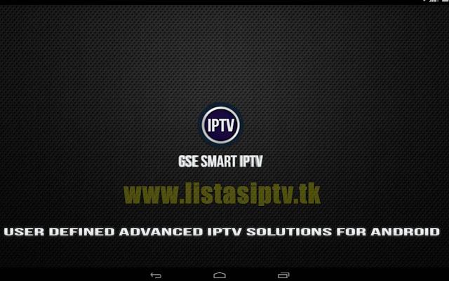 GSE SMART IPTV - Apk - Assista via Listas de Canais de forma Inteligente