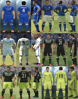 Download Kits Chelsea PES 2016 Musim 2016/2017
