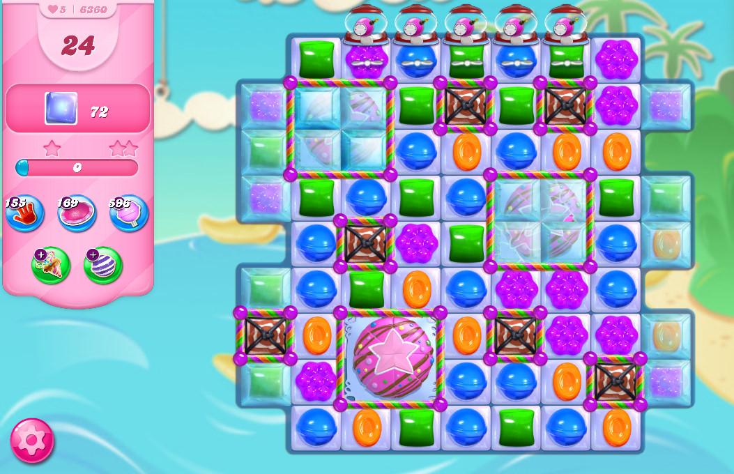 Candy Crush Saga level 6360